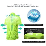 Short Sleeve Cycling Jersey Men's Quick Dry Basic
