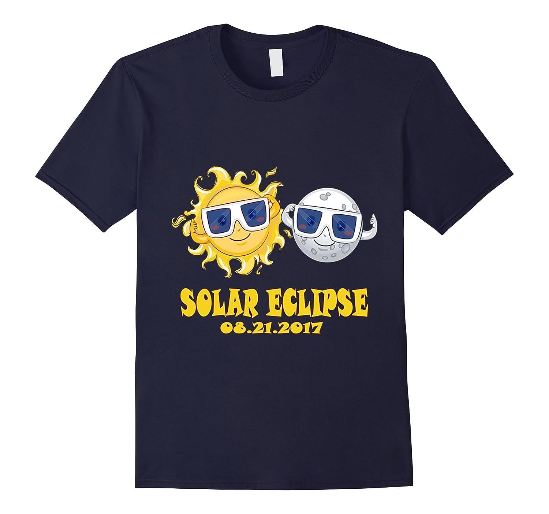 2017 Solar Eclipse Tee - Kids Cartoon Emoji Shirt-Art