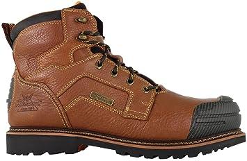"Thorogood 6 ""marrón Chevron deporte impermeable botas de trabajo 804 ..."