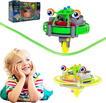 Blingbrione 2 IN 1 Electric Automatic Tightrope Wire-Walking Toy