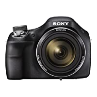Sony DSCH400B.CEH Digital Compact Bridge Camera - Black