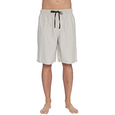 INTIMO Mens' Soft Bamboo Jam Sleep Shorts at Men's Clothing store