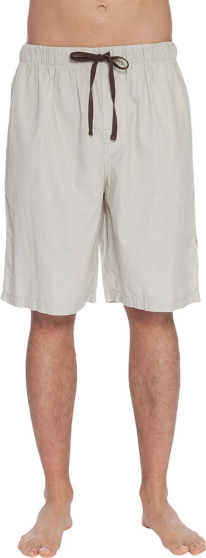 INTIMO Mens' Soft Bamboo Jam Sleep Shorts