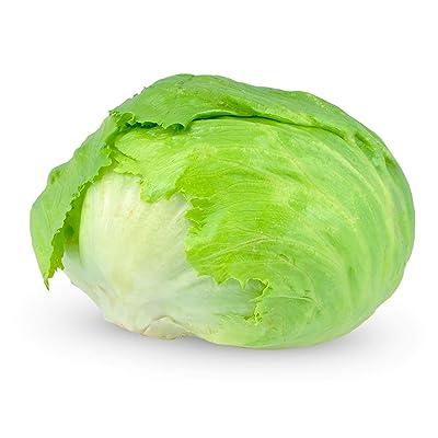 Sow No GMO Lettuce Iceberg Crisp Heads Non GMO Heirloom Garden Vegetable 100 Seeds : Garden & Outdoor