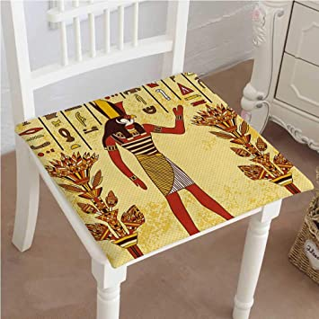 Amazon.com: Cojín de Jeroglyph egipcio con Pharaoh Retro ...