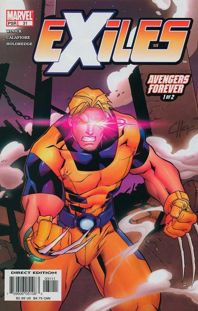 Download Exiles (Marvel), Edition# 31 ebook