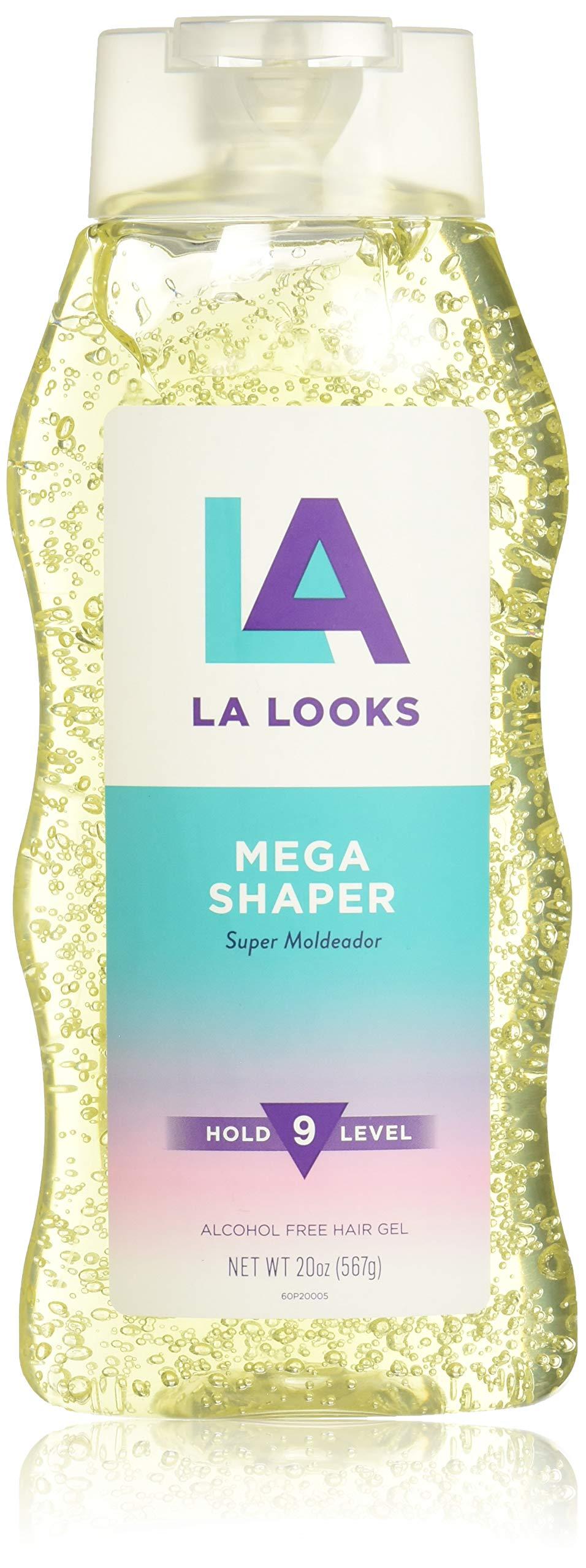 LA Looks Mega Shaper, #9 Hold Level, 20 Ounce