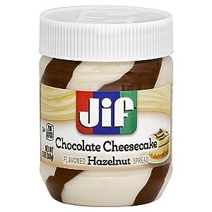 Jif Chocolate Cheesecake Flavored Hazelnut Spread, 13 Ounce