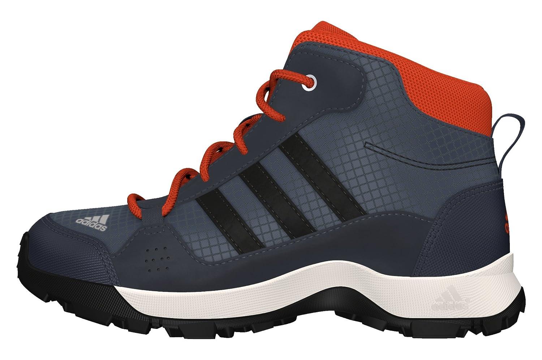 Adidas Hyperhiker K, Zapatillas de Senderismo para Niños Azul (Onix/Negbas / Rojint) 39 1/3 EU AQ4137