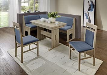 Dreams4Home Eckbankgruppe U0027Javau0027 Essgruppe 167 X 128 X 87 Cm Tisch 2 Stühle  Modern