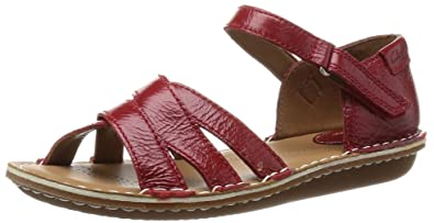 Clarks Women's Leather Fashion Sandals Women's Fashion Sandals at amazon