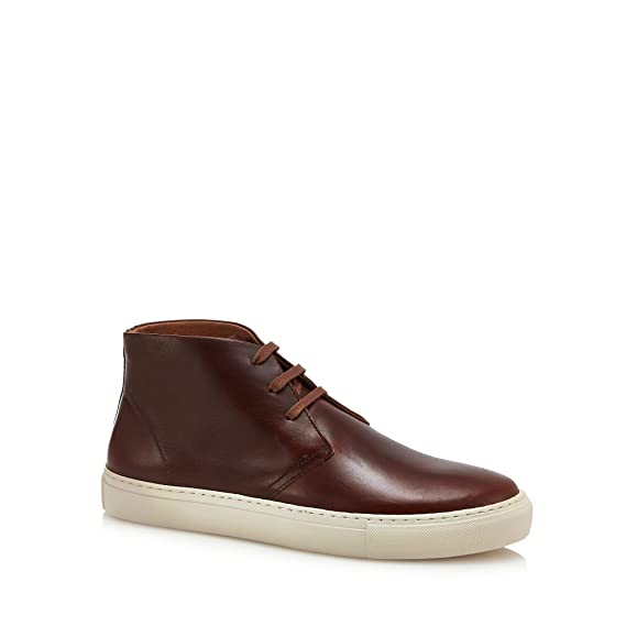 ed96bd70261 J By Jasper Conran Men Brown Leather  Turin  Chukka Boots  J by ...