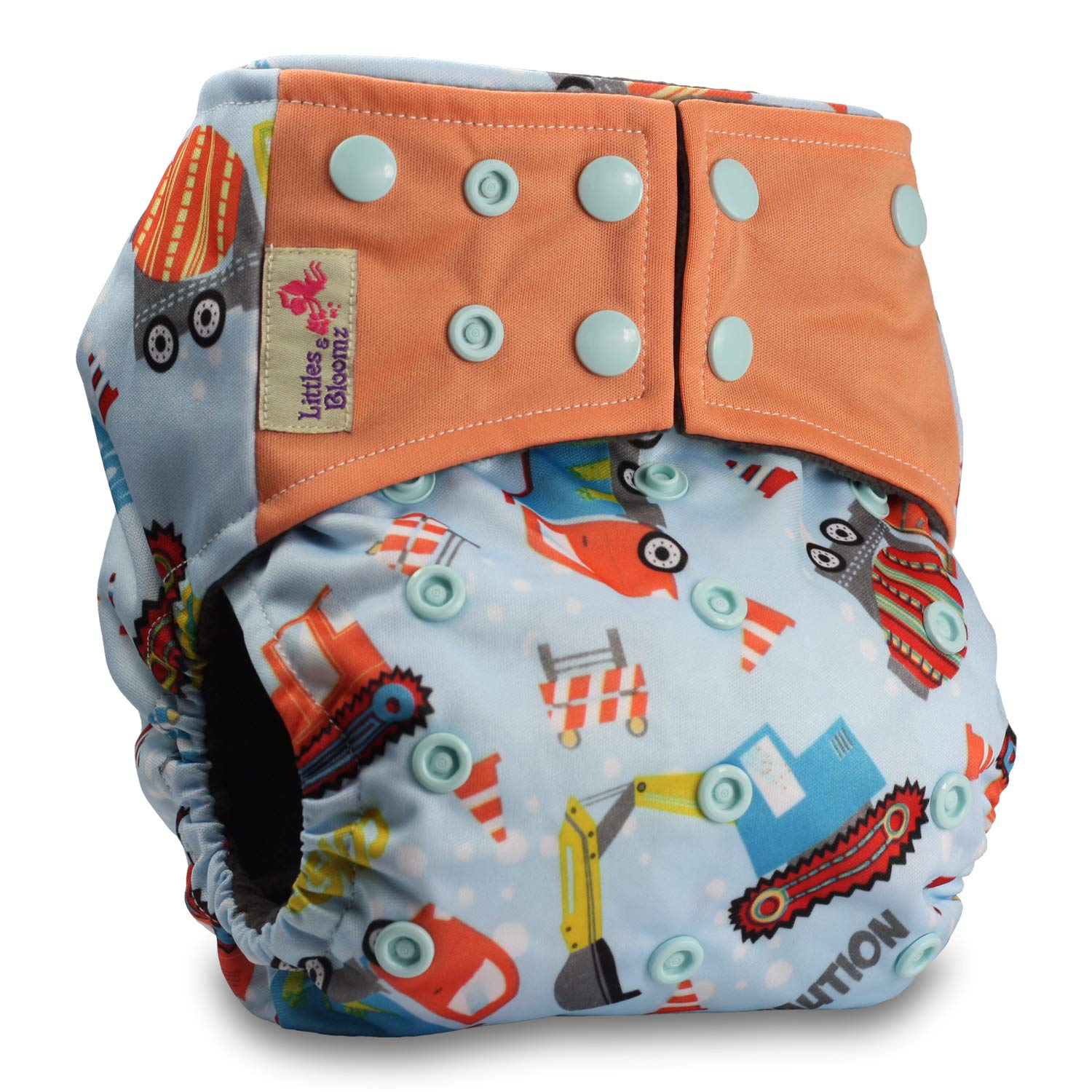 Without Insert Littles /& Bloomz Pattern 17 Reusable Pocket Real Cloth Nappy Washable Diaper Bamboo Charcoal
