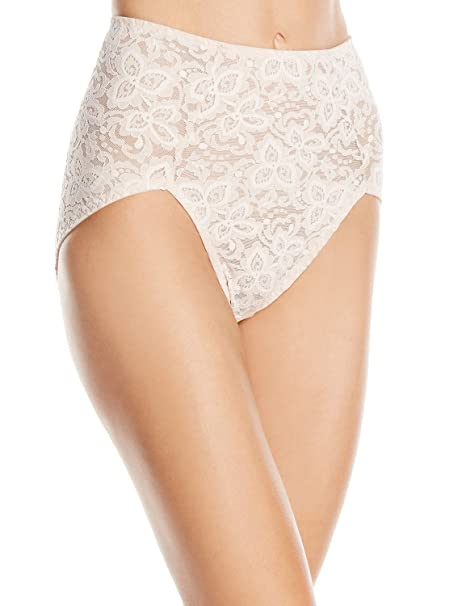 1396f614eb2 Bali Women s Lace  N Smooth Brief at Amazon Women s Clothing store
