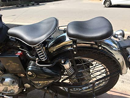 Saharaseats Sahara Harley Type Slim Seat With Spring Front And Rear