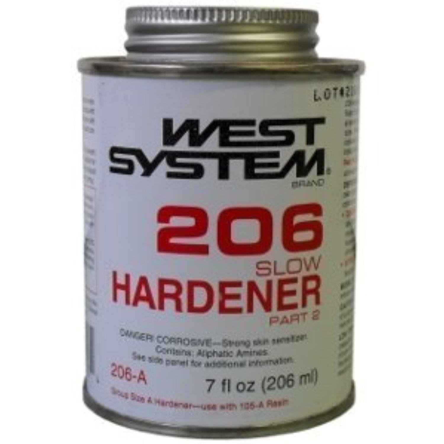 Hardener 8 oz pack of 6 automotive parts and accessories - Amazon Com West System 206a Slow Epoxy Hardener Industrial Scientific