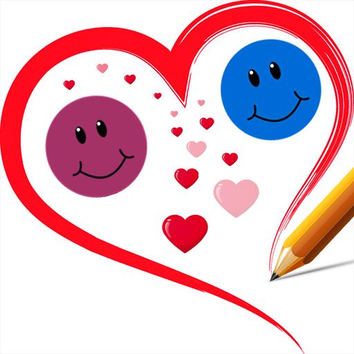 Love Line Balls Physics (Happy Fruit)