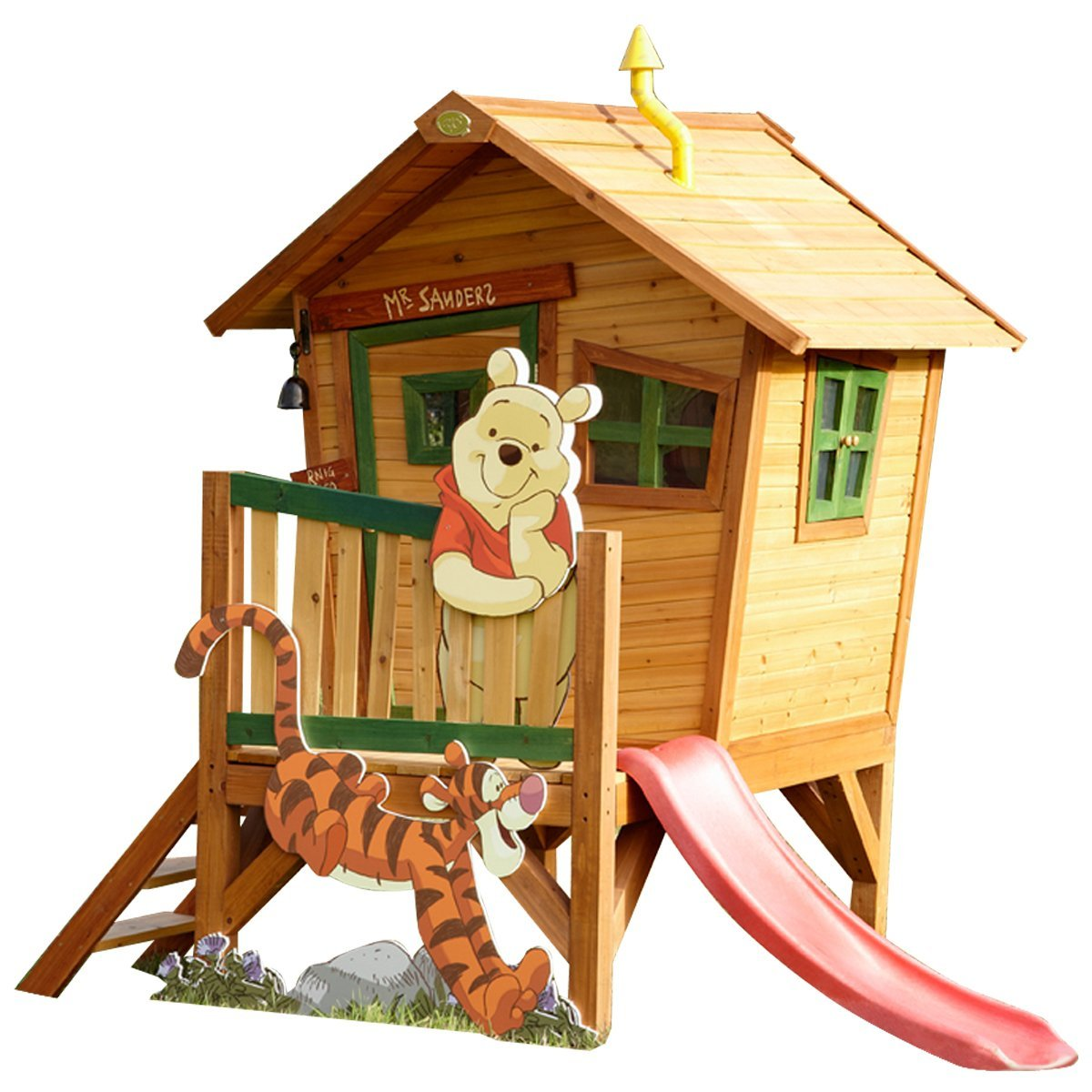 Axi Kinder Spielhaus Winnie the Pooh - Stelzenhaus
