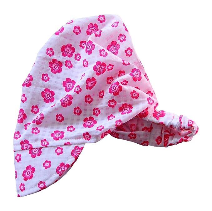 Bandana Kopftuch Baby Kinder Stirnband Sommer Mütze Kopfbedeckung Gummiband Accessoires