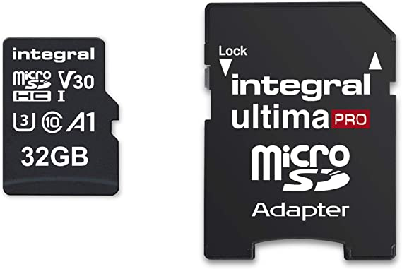 Integral Ultimapro Memory Card 32 Gb Microsdhc 100 Mb S Computers Accessories