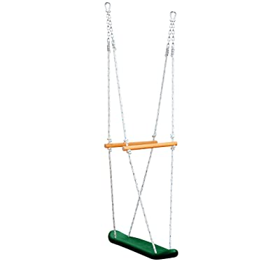 Gorilla Playsets 07-0026 Skateboard Swing Standing Swing for Outdoor Swing Set, Green: Toys & Games