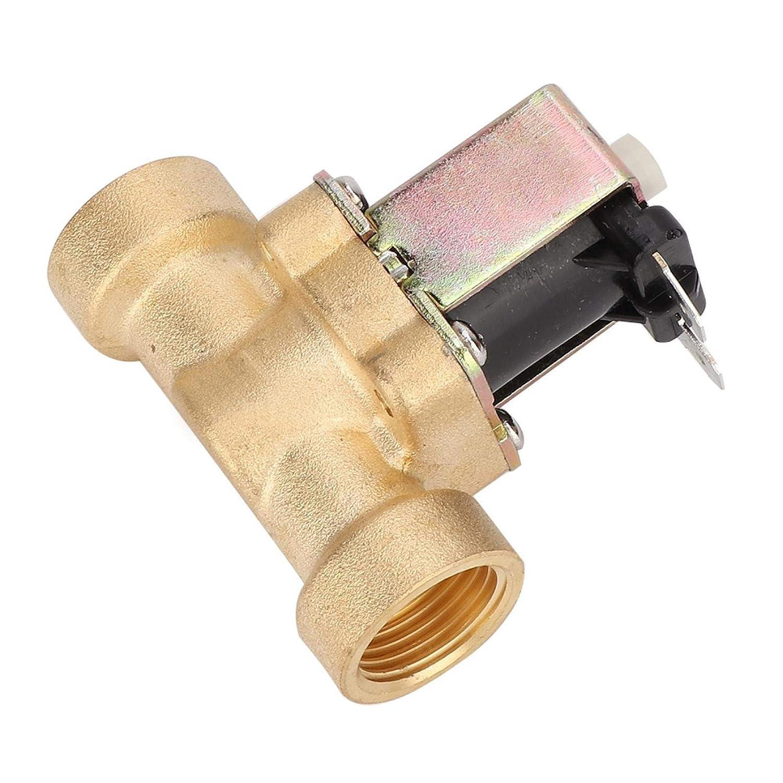 Bobina de cobre puro DC 12 / 24V válvula solenoide válvula electromagnética controles de riego tubería de fábrica(DC12V)