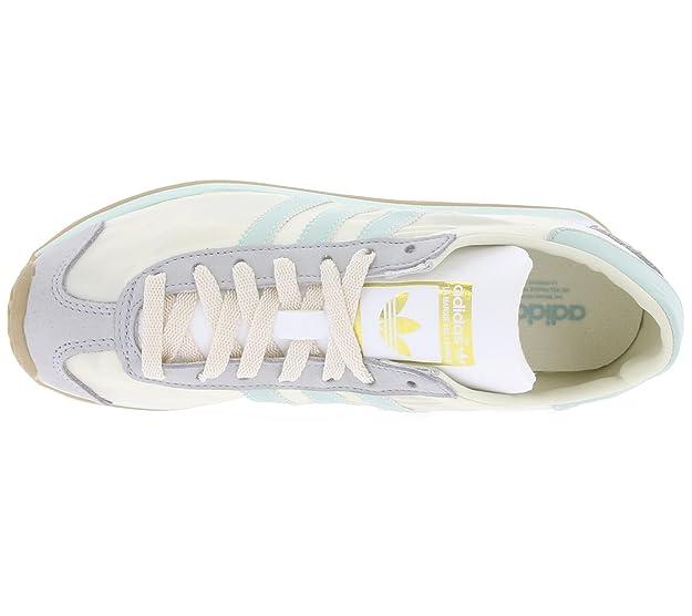 brand new b9f37 82cf7 adidas Country og w Sneaker da Donna, Bianco (Bianco Turchese), 42 23 EU  Amazon.it Scarpe e borse