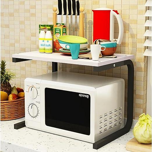 Amazon.com: Estantería de cocina para horno de microondas ...