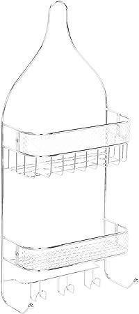 AmazonBasics - Estantería de ducha tipo cestillo