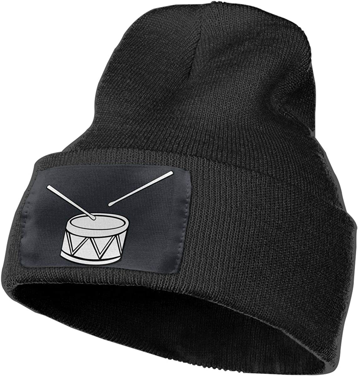 WHOO93@Y Mens Womens 100/% Acrylic Knit Hat Cap Snare Drum Clipart Thick Beanie Hat