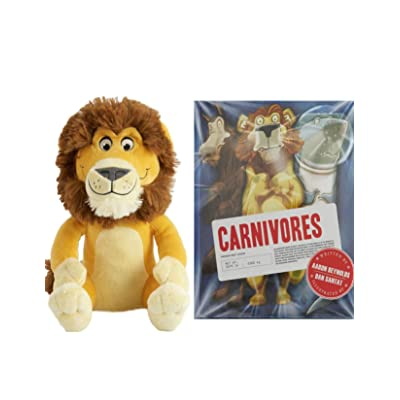 KOHLS CARE Plush Lion Toy and Carnivores Book Bedtime Story Book for Kids Bundle: Toys & Games