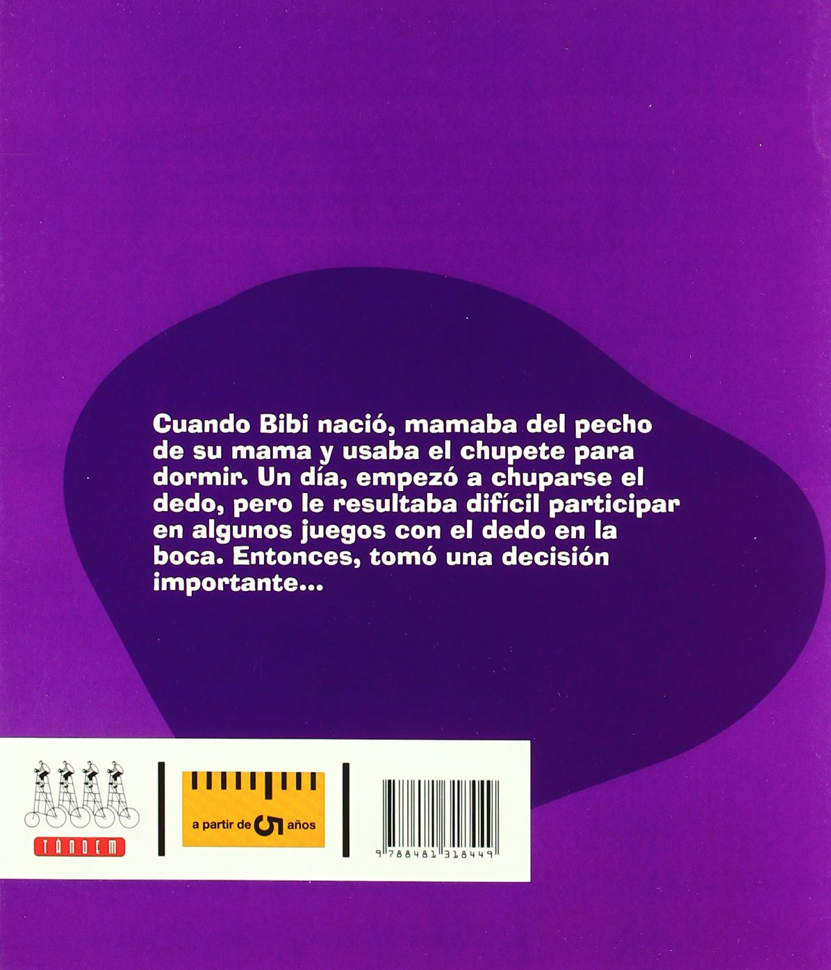 Bibi ya no se chupa el dedo (Primeras decisiones): Amazon.es ...
