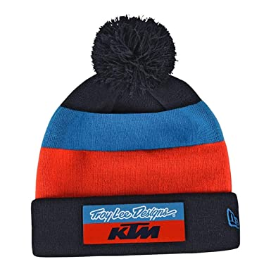 7b27c3b3f7a Troy Lee Designs 2018 KTM Team Pom Beanie at Amazon Men s Clothing ...