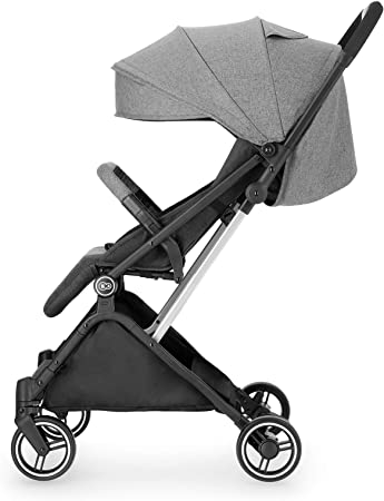 Kinderkraft Silla de Paseo Bebé INDY, Plegable, Impermeable, Hasta 15 kg, Gris