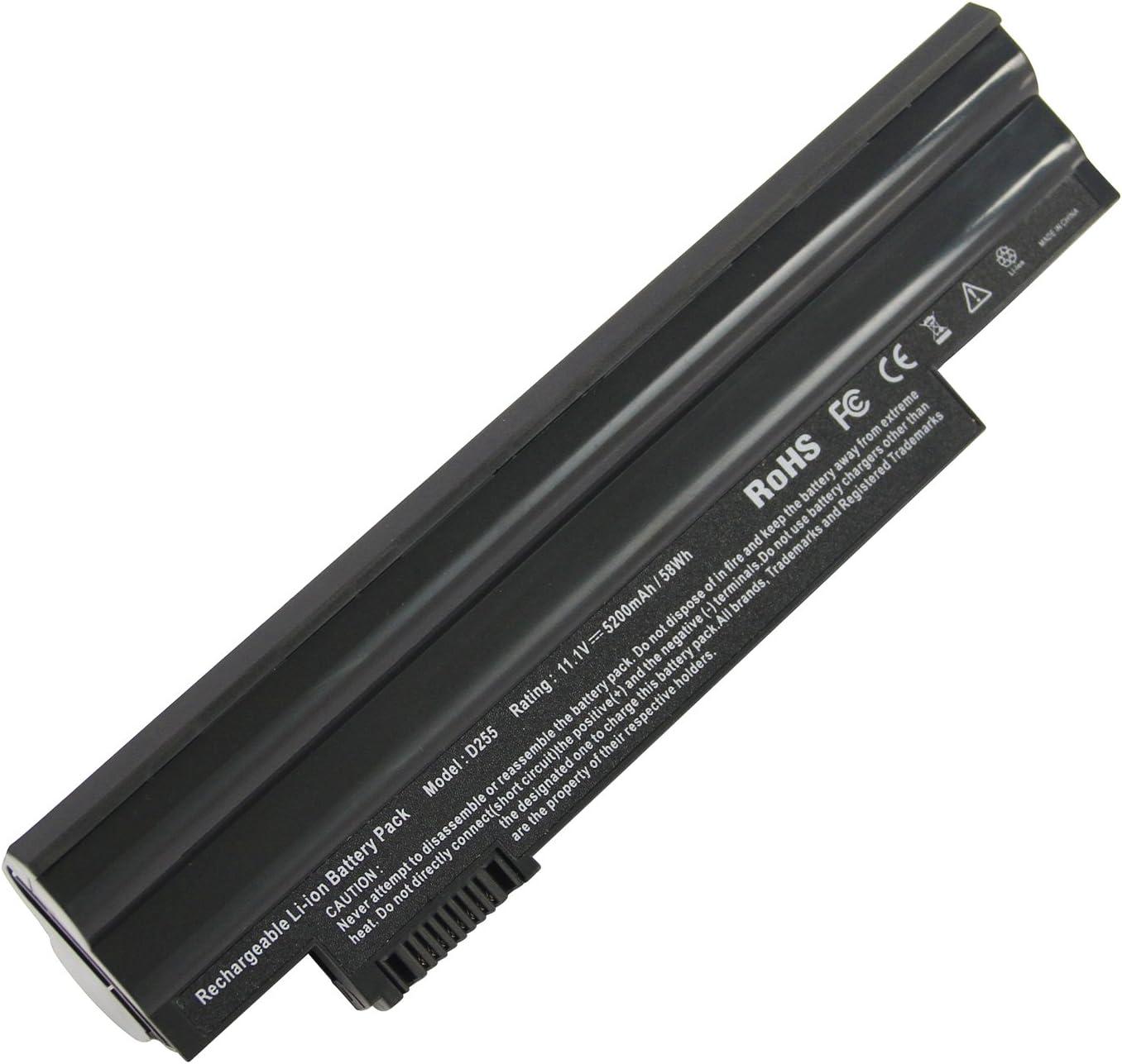 AL10A31 Battery, Replacement Laptop Battery fit Acer Aspire One D255 D257 D260 522 722 Al10a31 Al10b31 Al10g31 Bt.00603.114 LC.BTP00.129 Notebook Battery -Futurebatt