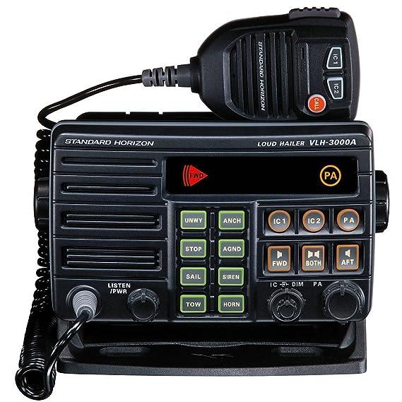 Amazon.com: Standard Horizon vlh-3000 a 30 W Dual Zone Pa ...