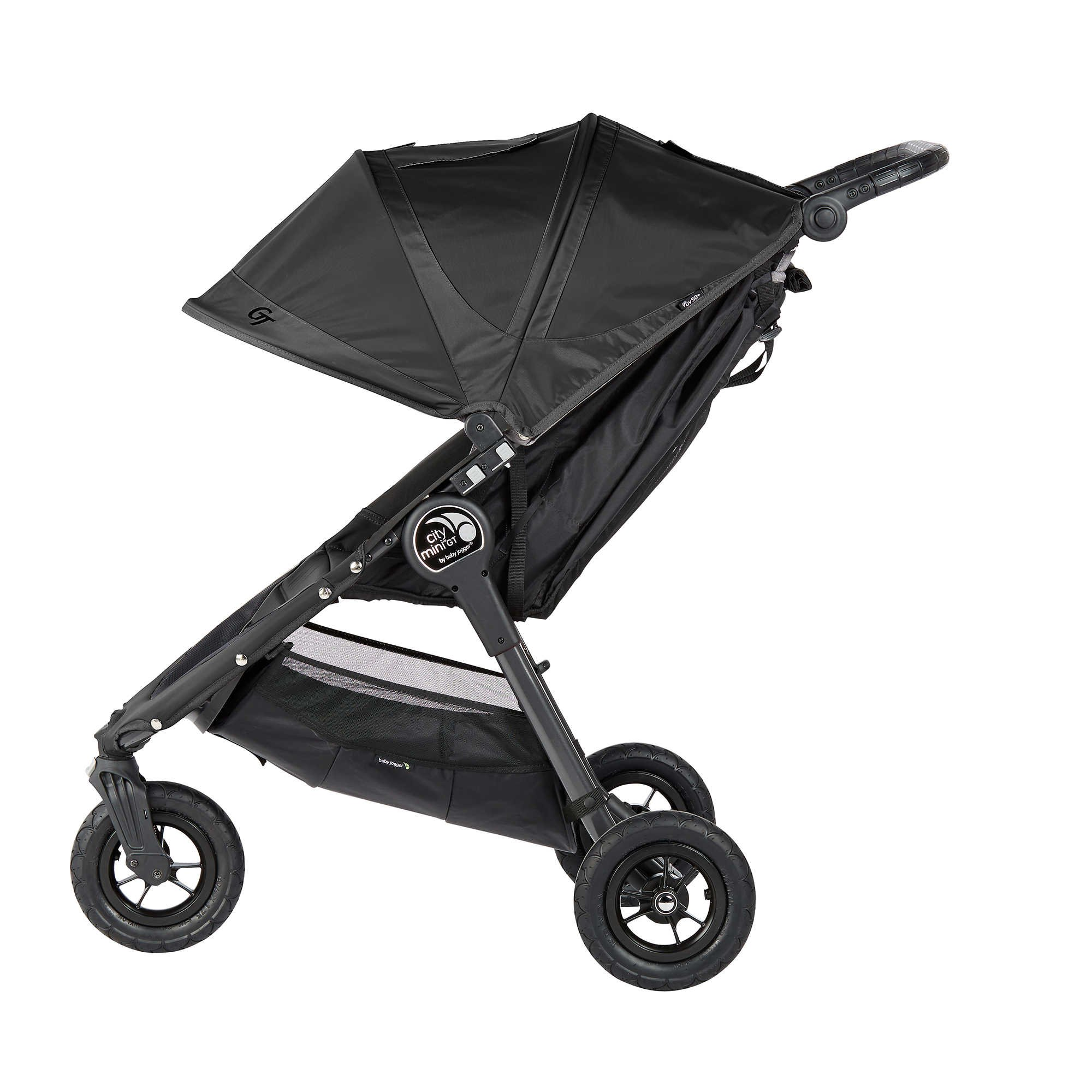 Baby Jogger 2016 City Mini GT Stroller in Black with Parent Console by Baby Jogger (Image #2)