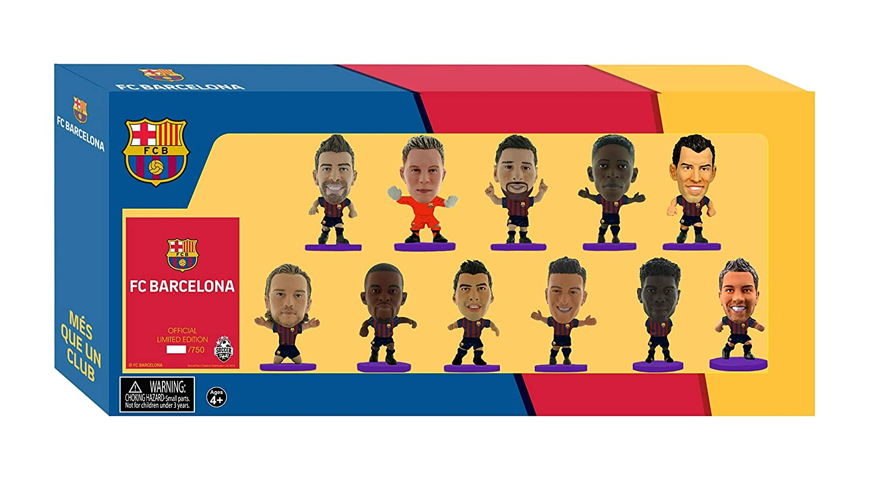 SoccerStarz FCBTP19 Barcelona Team Pack //Figures Purple 2018//19 Version