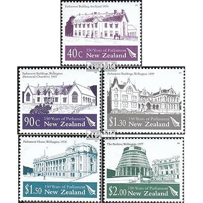 nouvelle-zélande 2153-2157 (complète.Edition.) 2004 parlement (Timbres pour les collectionneurs)