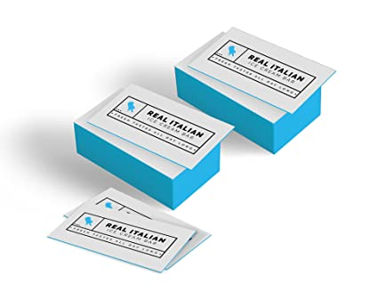 32 pt ultra thick colored edge premium quality business cards by socal graphix full - Colored Edge Business Cards