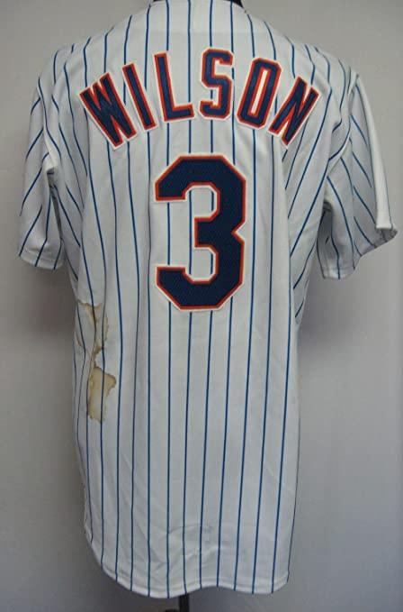 online retailer 97ca5 60942 New York Mets Vance Wilson #3 Game Issued Possible Game Used ...
