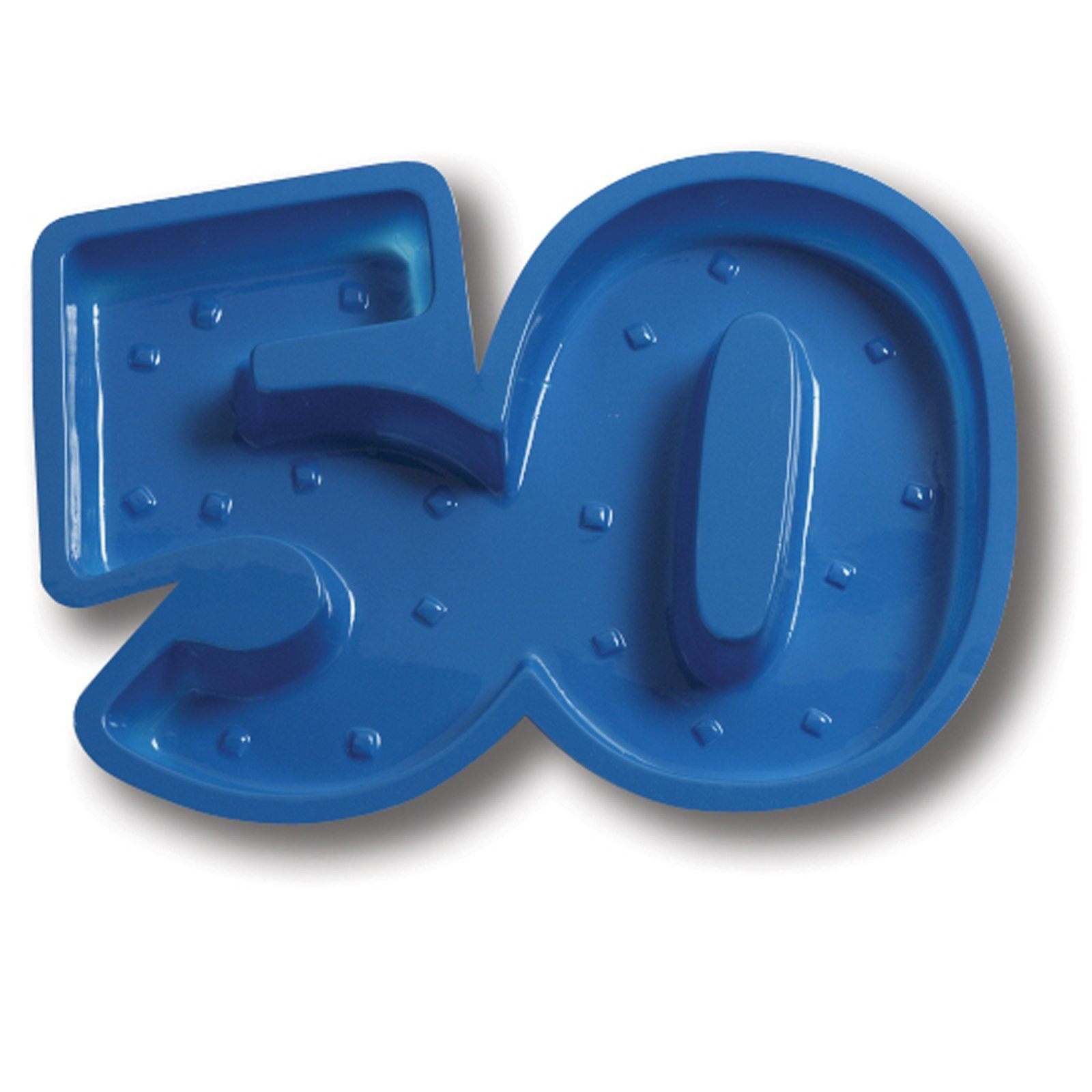 50th Plastic Tray by Creative Converting (Image #1)