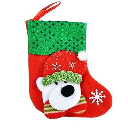 supreme glory little bear christmas stockings gift bags christmas dcor