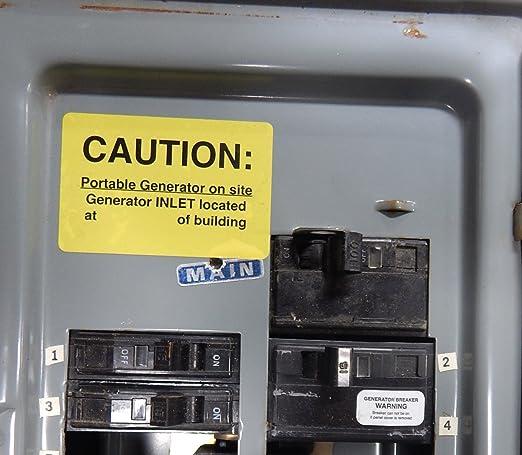 SD100XUL Square D QO Generator Interlock Kit 100 amp Main Breaker