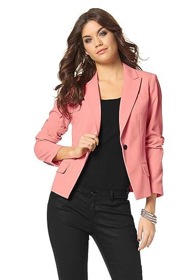 0db8239cf22b Laura Scott women's Blazer Blazer Orange - Apricot, Women, 36 ...