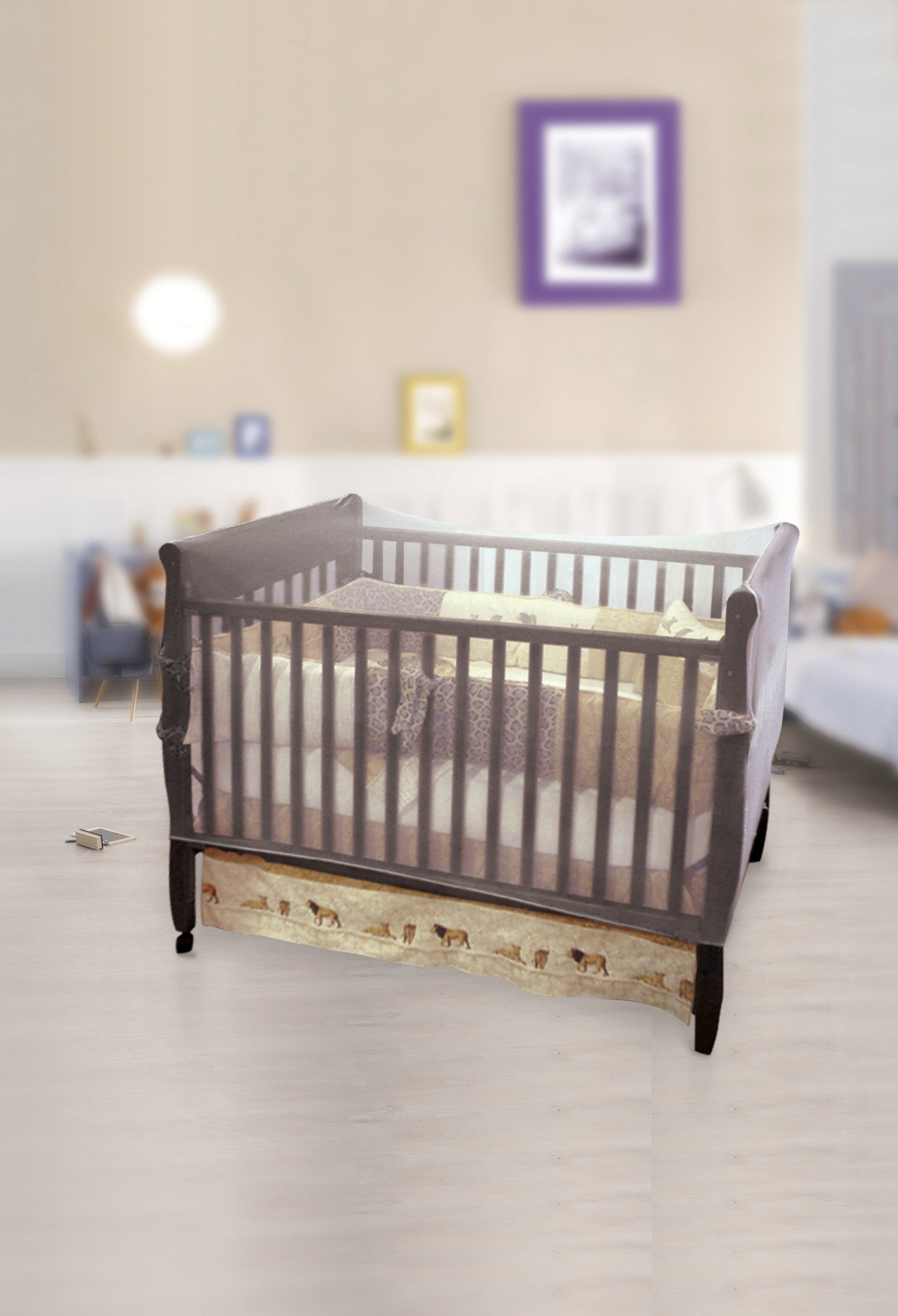 Jeep Crib Universal Size Crib Mosquito Net, White by Jeep (Image #6)