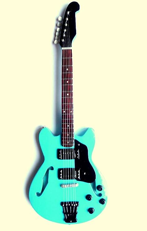 Guitarra en miniatura decorativa Guitarra Guitar Gibson 26 cm mano ...