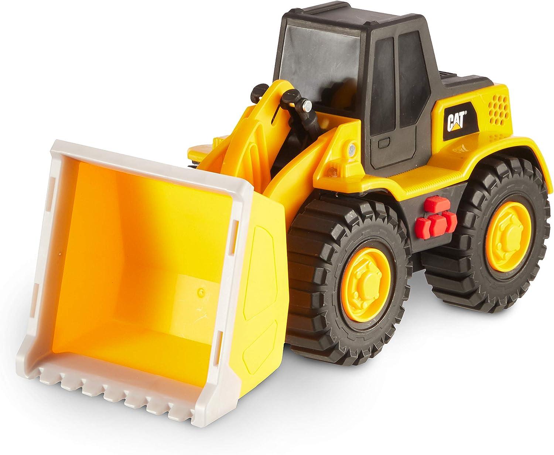 Yellow Caterpillar 82286 CAT Tough Machines Wheel Loader Construction Vehicle