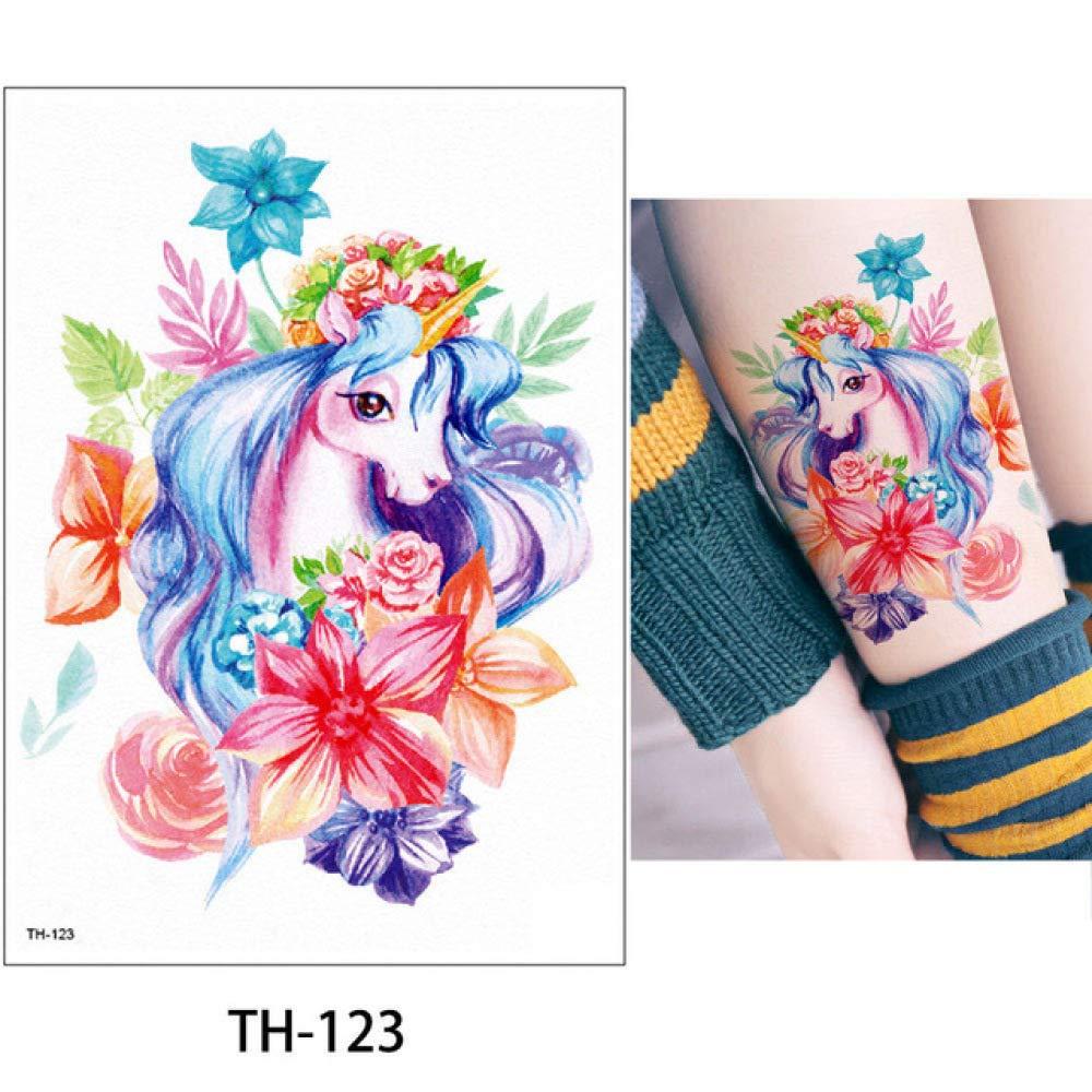 adgkitb 3 Piezas Etiqueta engomada del Tatuaje Animal de ...