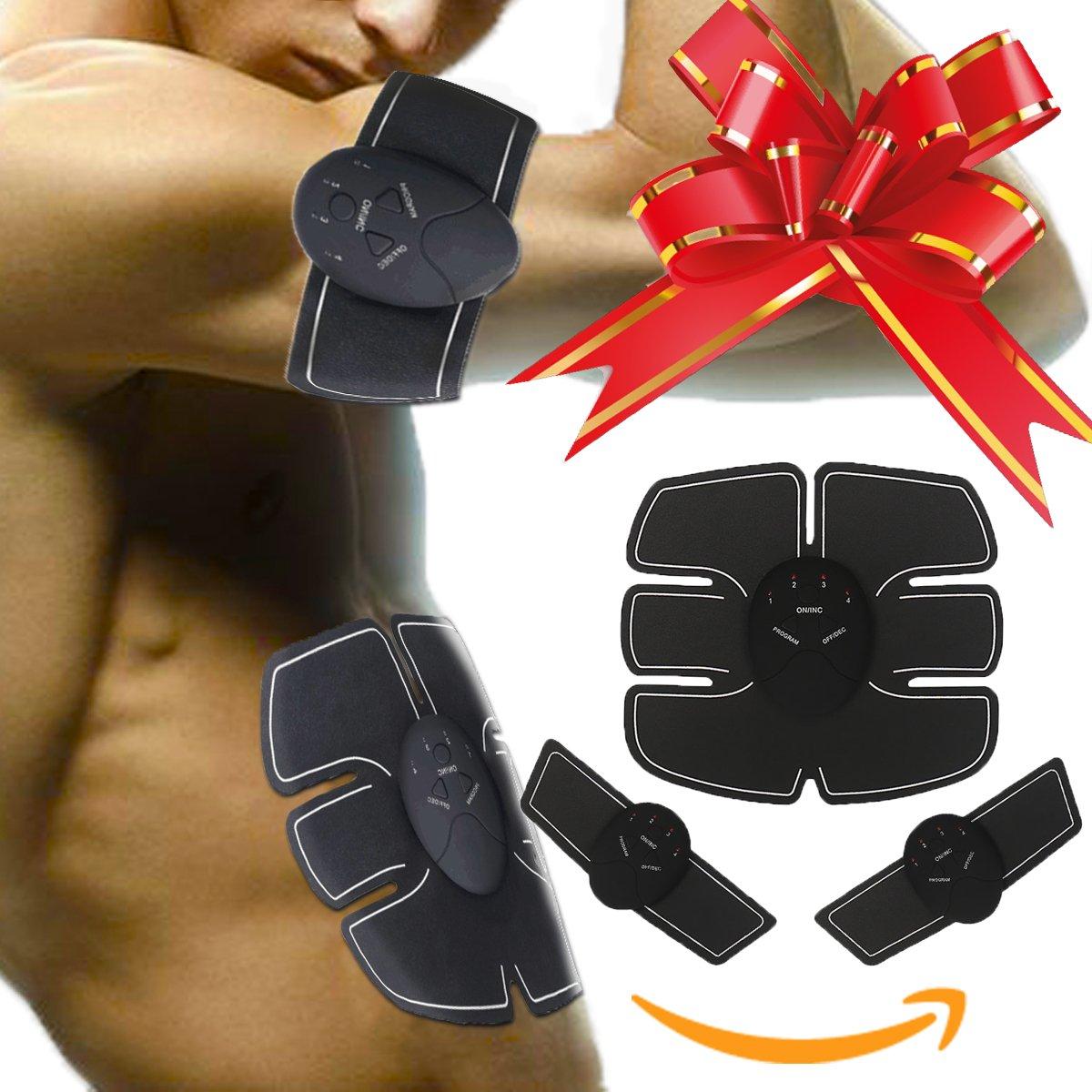 Tonificador por electroestimulación para desarrollar músculo reducir grasa y recuperarte de lesiones